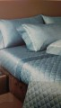 Quilt borbonese Image blu panna